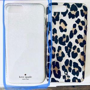 Sliver ombré glitter 7 plus phone case